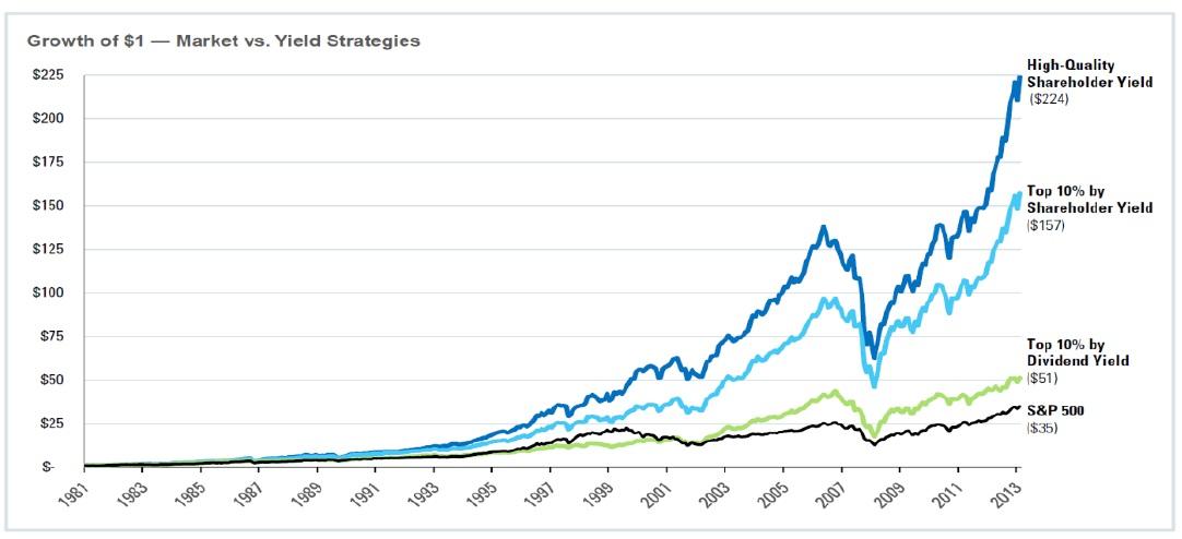 Vynosy strategii postavenych na vynosu akcionare