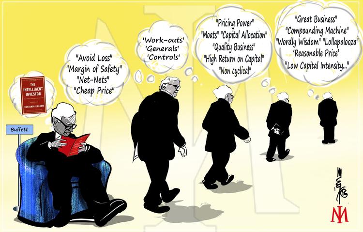 Evoluce investicniho stylu Warrena Buffetta